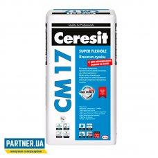 Клей для плитки Церезит СМ 17 эластичный (Ceresit CM-17) 25 кг