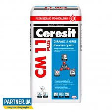 Клей для плитки Церезит СМ 11 Comfort Gres (Ceresit CM 11 Plus) 25 кг