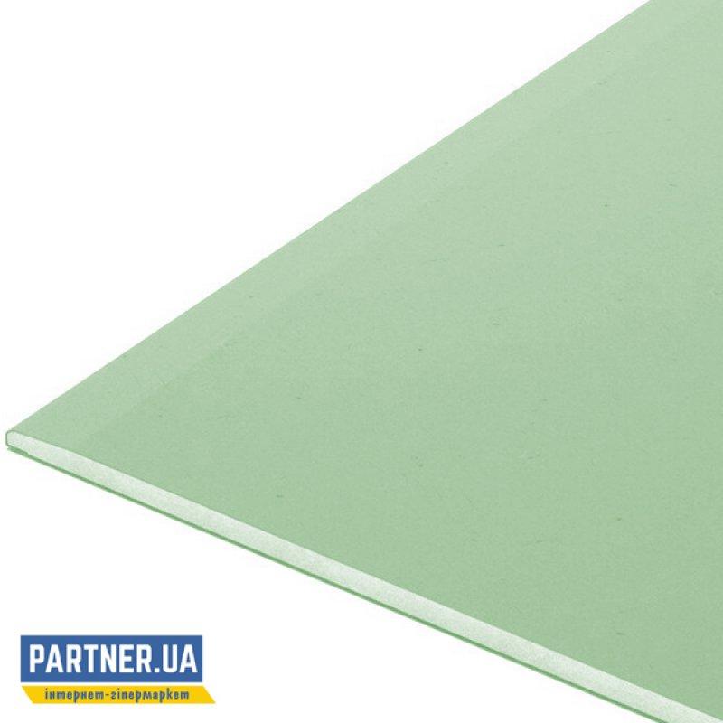 Гипсокартон потолочный влагостойкий Кнауф (Knauf) (2 м)