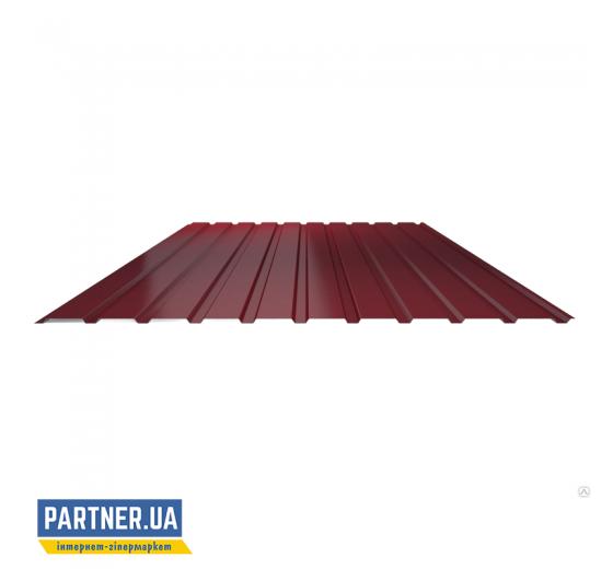 Профнастил стеновой RAL 3005, 950х1500х0,25 мм