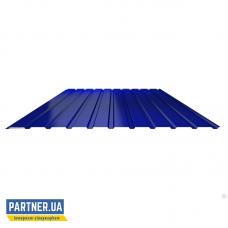 Профнастил стеновой RAL 5005, 950х1700х0,25 мм