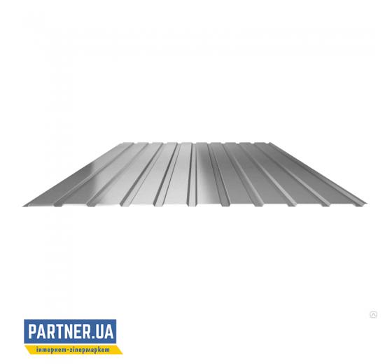 Профнастил стеновой оцинкованный, 950х1500х0,25 мм