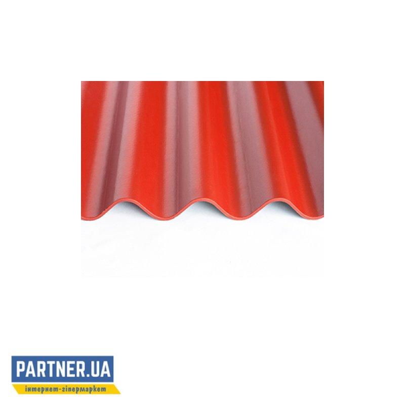 Шифер волокнистоцементный FIBRODAH classic 1750х1130, красный