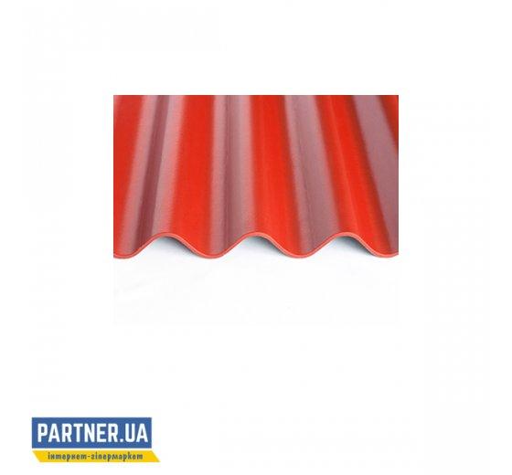 Шифер волокнистоцементный FIBRODAH renaissance 1130х1000, красный