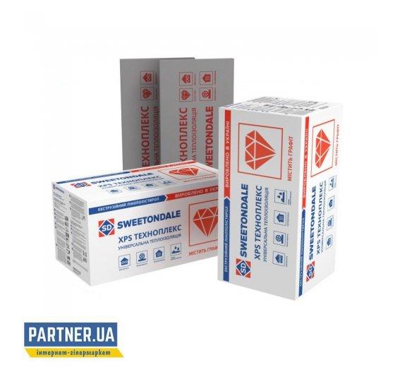 Пенополистирольные плиты ТЕХНОПЛЕКС, экструдированные, 1100х550х50 мм
