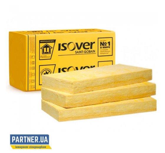 Утеплитель Изовер (Isover) штукатурный фасад 120х600х1200 мм,  2,16м2/уп
