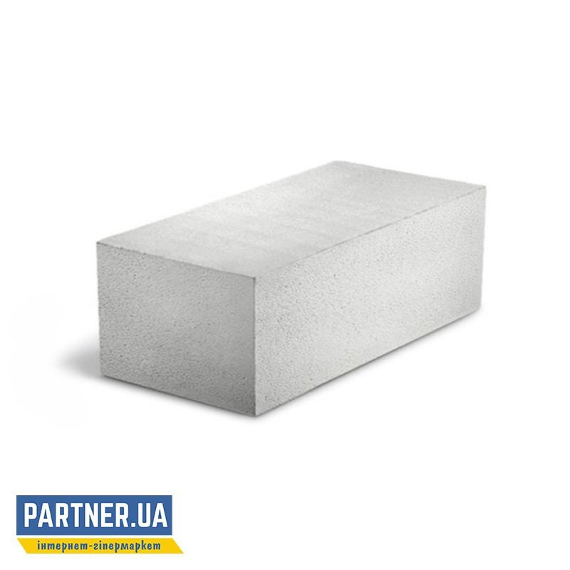 Газоблок Стоунлайт стеновой D400-D500 гладкий 400х200х600