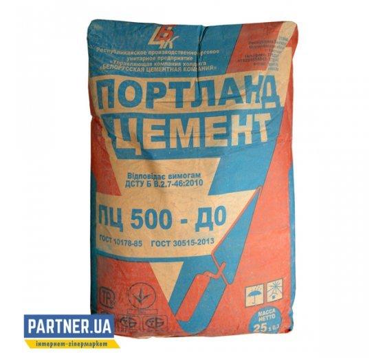 Цемент ПЦ 500 Д0 БЦК 25 кг