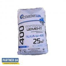 Цемент ПЦ II/А-Ш-400 РЕСУРС БУД 25 кг