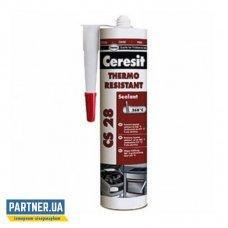 Герметик силиконовый термостойкий Церезит ЦС 28 (Ceresit CS 28) 280 мл