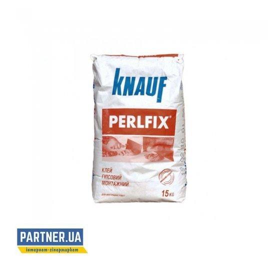 Клей для гипсокартона Кнауф (Knauf) Перлфикс СМС, 15 кг