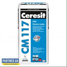 Клей для камня и керамогранита Церезит СМ 117 (Ceresit CM 117) 25 кг