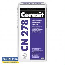 Легковыравнивающаяся стяжка для пола Ceresit CN 278, 25 кг
