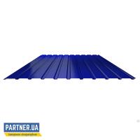 Профнастил стеновой RAL 5005, 950х1500х0,25 мм