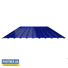 Профнастил стеновой RAL 5005, 950х2000х0,25 мм
