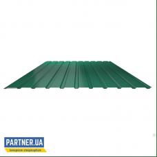 Профнастил стеновой RAL 6005, 950х2000х0,25 мм