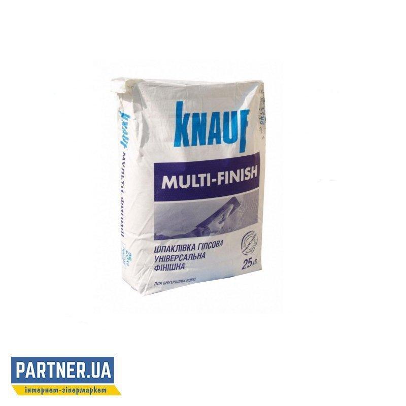 Шпаклевка Кнауф (Knauf) Мульти-Финиш, гипсовая, 25 кг