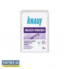 Шпаклевка Кнауф (Knauf) Мульти-Финиш, гипсовая, 5 кг