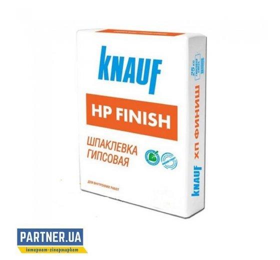 Шпаклевка НР-финиш KNAUF (КНАУФ), гипсовая, 25 кг