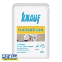 Шпаклевка KNAUF (КНАУФ) Фугенфюллер, гипсовая, 25 кг