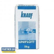 Шпаклевка для стыков Кнауф Унифлот (Knauf Uniflott) гипсовая 5 кг