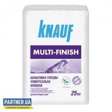 Шпаклевка Кнауф Мульти-Финиш (Knauf Multi-Finish) гипсовая 25 кг