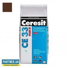 Затирка для швов Церезит ЦЕ 33 Plus 132  (Ceresit CE-33), терракотовый, 2 кг